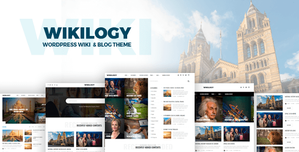 test Wikilogy - Wiki & Blog WordPress Theme