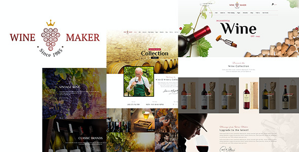 test Wine Maker - Wine, Winery Theme