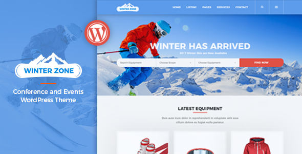 test WinterZone – Ski & Winter Sports WordPress Theme
