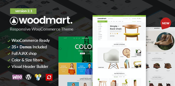 Test du thème WordPress WoodMart , découvrez notre avis