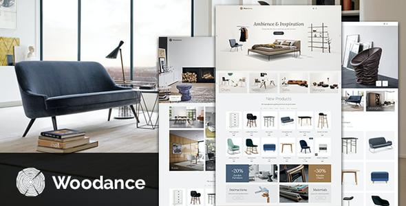 Test du thème WordPress Woodance Furniture , voici notre avis