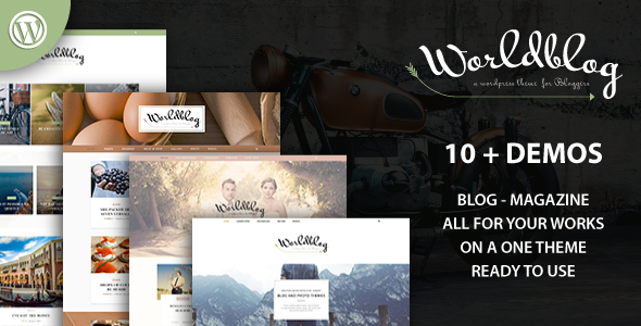 Test du thème WordPress Worldblog , découvrez notre avis
