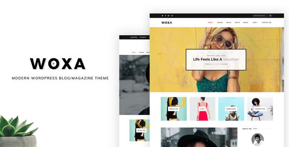 Test du thème WordPress Woxa , découvrez notre avis