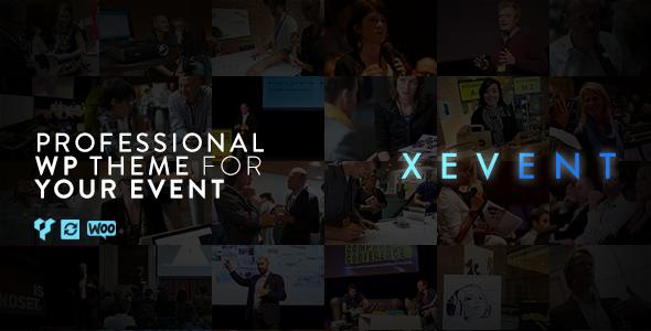 Test du thème WordPress XEvent , découvrez notre avis