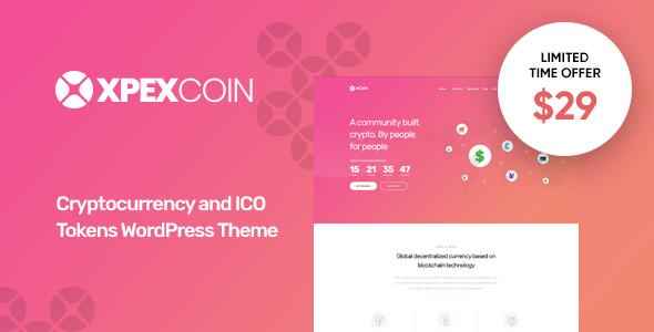Test du thème WordPress XPEXCoin , voici notre avis