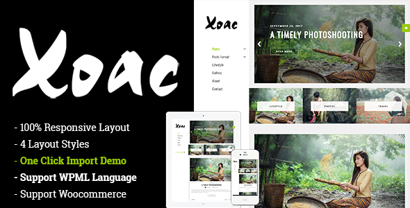 test Xoac – Travel Blog WordPress Theme
