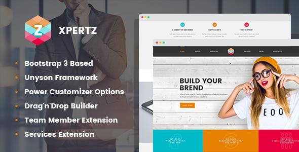 Test du thème WordPress XpertZ , voici notre avis