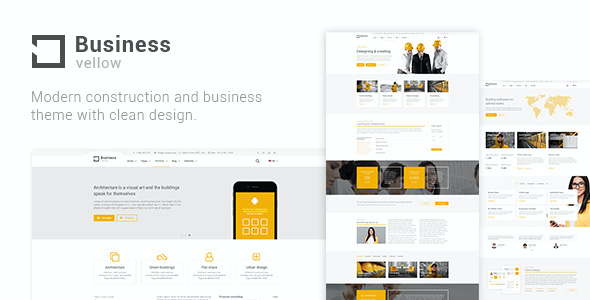 test Yellow Business - Construction Theme for Industrial Businesses