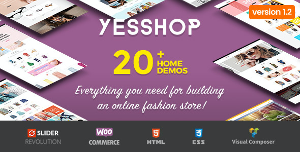 test Yesshop - Responsive Multipurpose WordPress WooCommerce Theme