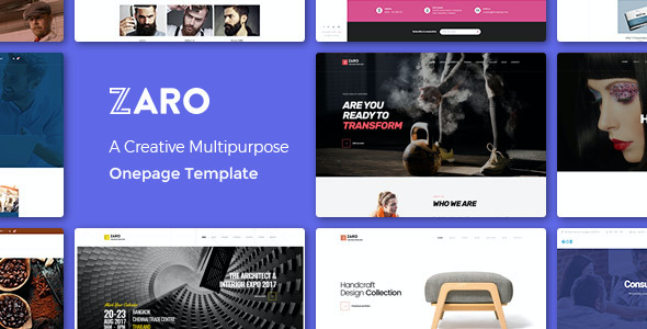 test Zaro - Creative Multipurpose Onepage WordPress Theme