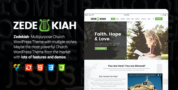test Zedekiah - MultiPurpose Church & Religion WordPress Theme