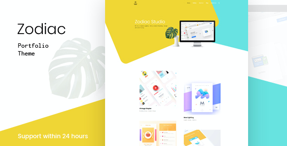 test Zodiac- Creative Portfolio WordPress Theme