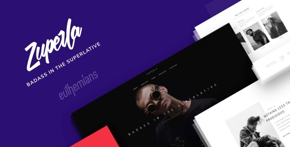 test Zuperla - Creative Multi-Purpose WordPress Theme