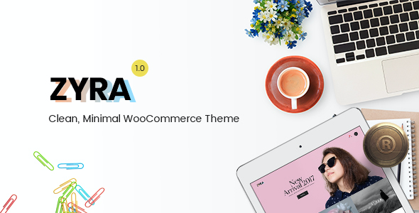 Test du thème WordPress Zyra , voici notre avis