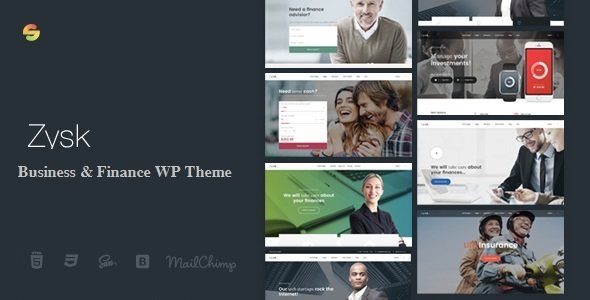 test Zysk - Advisior & Finance WordPress Theme