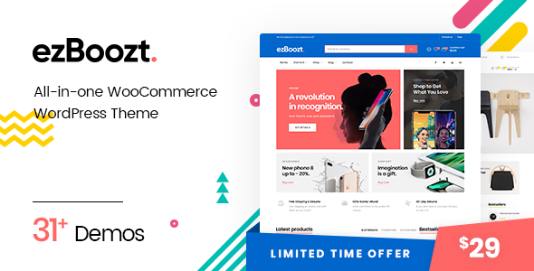 test ezBoozt – All-in-one WooCommerce WordPress Theme