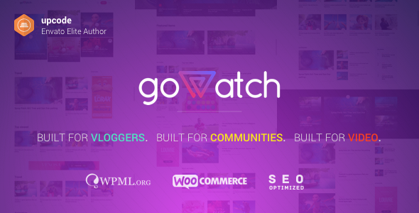 test goWatch - Video Community & Sharing Theme