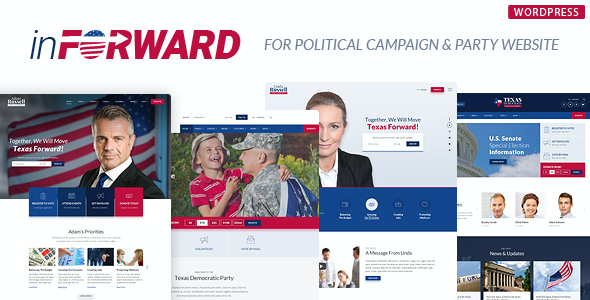 test inForward - Political Campaign and Party WordPress Theme