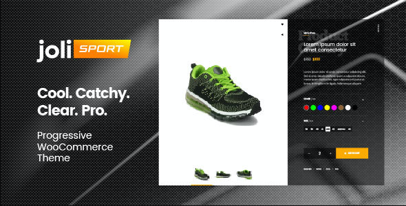test joli-sport - Progressive WooCommerce Theme