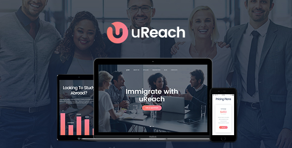 test uReach | Immigration Consulting WP Theme